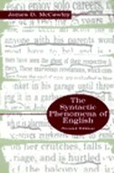 Book The Syntactic Phenomena Of English by James D. McCawley