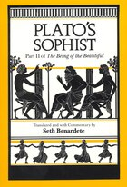 Plato's Sophist: Part II of The Being of the Beautiful