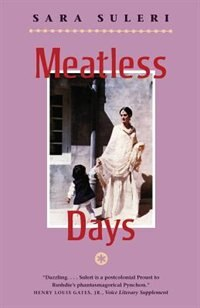 Book Meatless Days by Sara Suleri Goodyear
