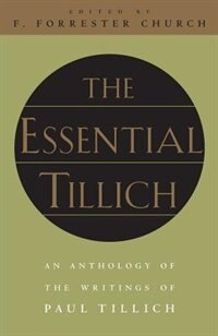 Book The Essential Tillich by Paul Tillich