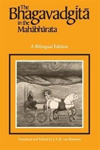 Book The Bhagavadgita in the Mahabharata by J. A. B. van Buitenen