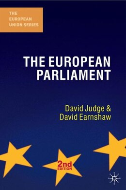 Book The European Parliament, Second Edition by David Judge
