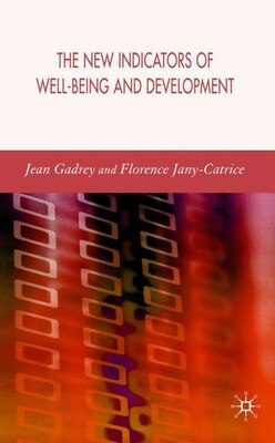 Book The New Indicators of Well-Being and Development by J. Gadrey