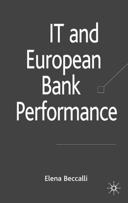 Book It And European Bank Performance by E. Beccalli