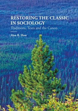 Book Recovering Sociology's Classics by Alan How