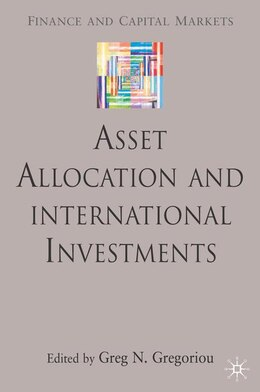 Book Asset Allocation And International Investments by Greg N Gregoriou