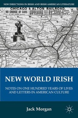Book New World Irish: Notes On One Hundred Years Of Lives And Letters In American Culture by Jack Morgan