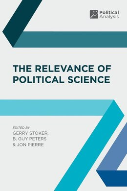 Book The Relevance of Political Science by Gerry Stoker