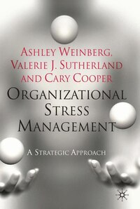 Organizational Stress Management: A Strategic Approach