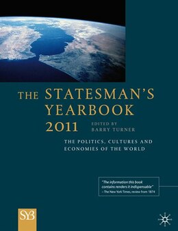 Book The Statesman's Yearbook 2011: The Politics, Cultures and Economies of the World by Barry Turner