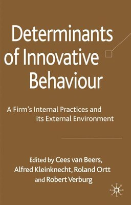 Book Determinants Of Innovative Behaviour: A Firm's Internal Practices and its External Environment by Cees van Beers