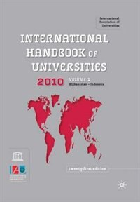 International Handbook of Universities: Twenty-First Edition