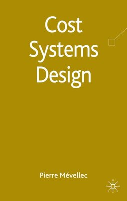 Book Cost Systems Design by Pierre Mévellec