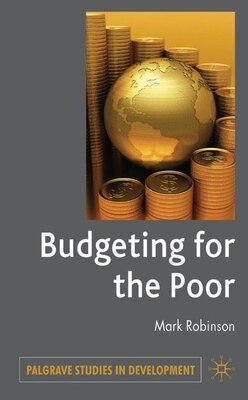 Book Budgeting For The Poor by M. Robinson