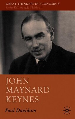 Book John Maynard Keynes by Paul Davidson