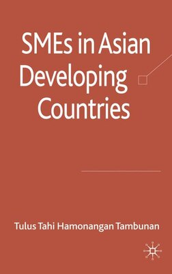 Book Smes In Asian Developing Countries by Tulus Tambunan