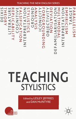 Book Teaching Stylistics by Lesley Jeffries