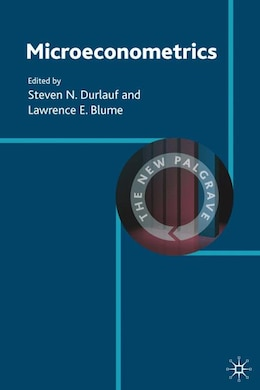 Book Microeconometrics by Steven N. Durlauf
