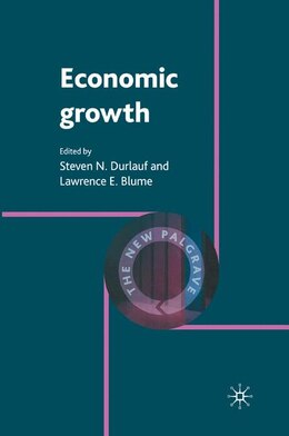 Book Economic Growth by Steven Durlauf
