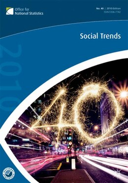 Book Social Trends (40th Edition) by Office for National Statistics