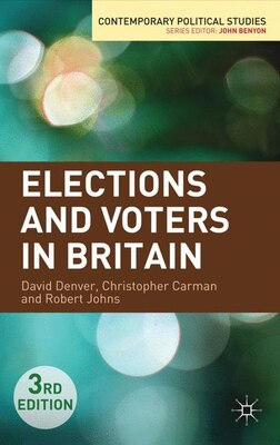 Book Elections And Voters In Britain by David Denver