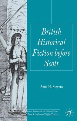 Book British Historical Fiction Before Scott by A. Stevens