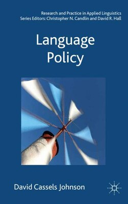 Book Language Policy by David Cassels Johnson