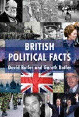 Book British Political Facts by David Butler