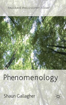 Book Phenomenology by Shaun Gallagher