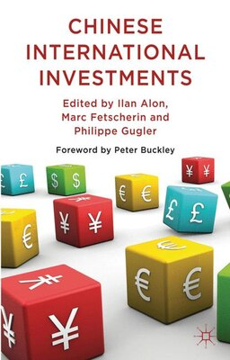 Book Chinese International Investments by Ilan Alon