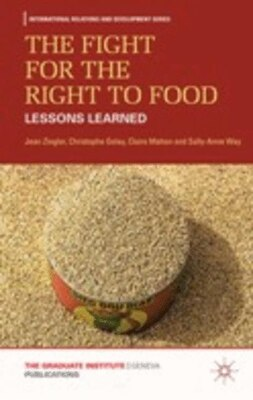 Book The Fight for the Right to Food: Lessons Learned by Jean Ziegler