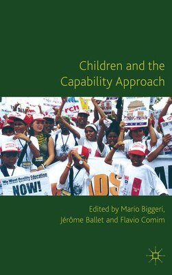 Book Children And The Capability Approach by Mario Biggeri