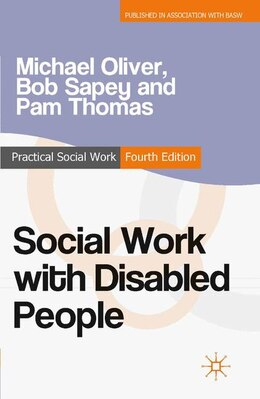 Book Social Work with Disabled People by Michael Oliver