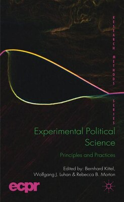 Book Experimental Political Science: Principles and Practices by Bernhard Kittel