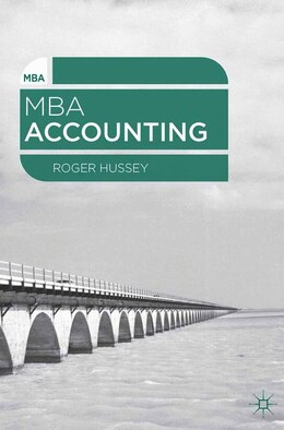 Book MBA Accounting by Roger Hussey