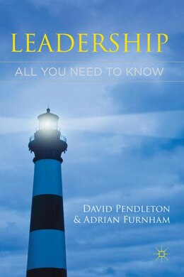 Book Leadership: All You Need to Know by David Pendleton