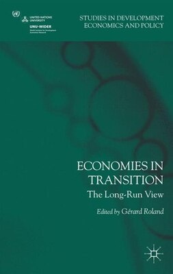 Book Economies in Transition: The Long-Run View by G. Roland