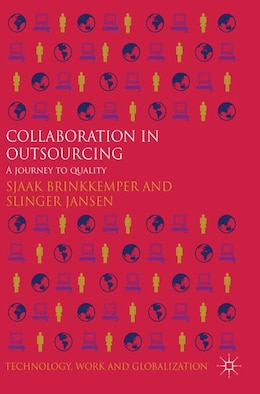 Book Collaboration in Outsourcing: A Journey to Quality by Sjaak Brinkkemper