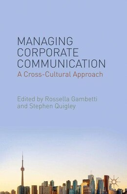 Book Managing Corporate Communication: A Cross-Cultural Approach by Rossella Gambetti