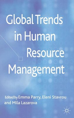Book Global Trends in Human Resource Management by Emma Parry