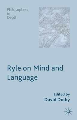 Book Ryle on Mind and Language by David Dolby