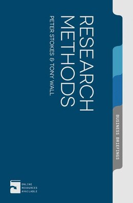 Book Research Methods by Peter Stokes