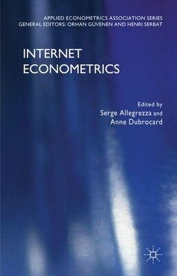 Book Internet Econometrics by Serge Allegrezza