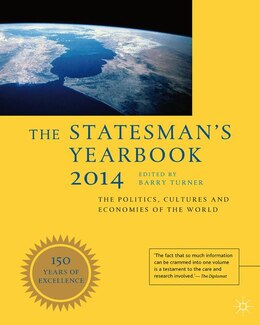Book The Statesman's Yearbook 2014: The Politics, Cultures and Economies of the World by Barry Turner