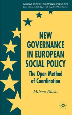 Book New Governance In European Social Policy: The Open Method of Coordination by Milena Buchs