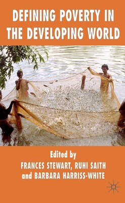 Book Defining Poverty In The Developing World by Frances Stewart