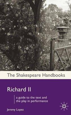 Book Richard Ii by Jeremy Lopez