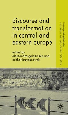 Book Discourse and Transformation in Central and Eastern Europe by A. Galasinska
