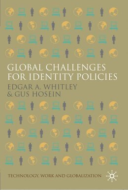 Book Global Challenges For Identity Policies by Edgar A. Whitley