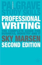Professional Writing: 2nd Edition